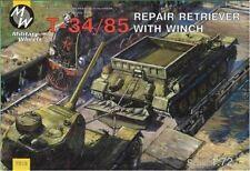 1/72  T-34/85 Repair Retriever with Winch MilitaryWheels 7212 Models kits