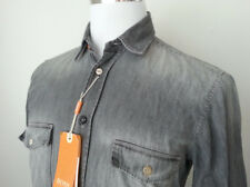 5d942b6f1c Denim Regular Size S Button-Front Casual Shirts for Men