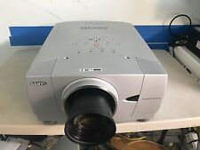 Sanyo PLC-XP55(CHRISTIE LX45) WITH LONG LENS (LNS-T31A) NEWL LAMP, GOOD WORKING
