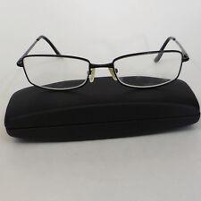 68e477d1bd Fossil Aster MS3682 Unisex Rx Eyeglasses - Black Metal Frames 55-18-135