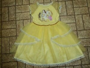 Disney Beauty and the Beast Dress Halloween Costume. Sz. 6/6X. Pretty!