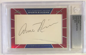 2014 Leaf Sports Icons Arnie Risen Autograph Auto signed #4 of 6