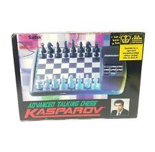 Saitek Advanced Talking Chess Kasparov Complete accept Missing Instructions 1996