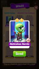 X1 Meticulous Marvin Coin Master trading card !!!Super Fast Dispatch!!!