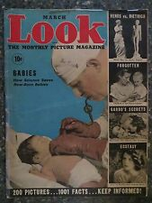 Look Magazine March 1937  Myrna Loy  VINTAGE ADS  Greta Garbo  Marlene Dietrich