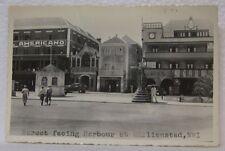 1937 WILLIAMSTAD NWI ST THOMAS S.S. ROTTERDAM OLD PHILIPS LIGHT BULB SIGN PHOTO