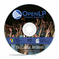 OpenLP Professional Church Worship Presentation Bible Software Win Mac CD F19