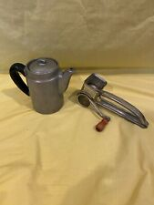 Lot VINTAGE ANTIQUE MOULI GRATER MADE IN FRANCE & Metal small Coffee/Tea pot