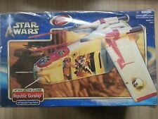 Star Wars AOTC REPUBLIC GUNSHIP Clone Pilot x2 Gun Cannon Trooper Army Geonosis