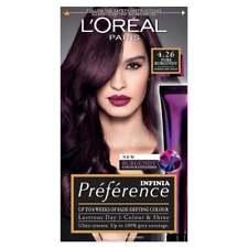 L'Oreal Paris Preference Infinia 4.26 Pure Burgundy Violet Hair Dye