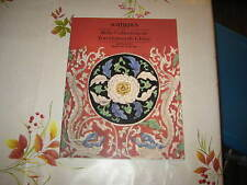 SOTHEBY'S CATALOGUE CHINESE CERAMICS COLLECTION MONACO MAR90 ART