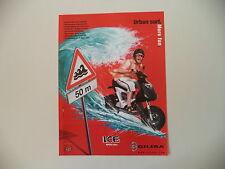 advertising Pubblicità 2002 GILERA ICE HIPER 50