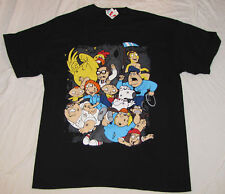 THE FAMILY GUY MENS GRAPHIC T-SHIRT NEW BLACK LARGE TAG