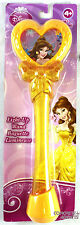 """Disney Princess Light Up 9"""" Wand BELLE Flashing Red & Blue by Blip Toys NEW"""