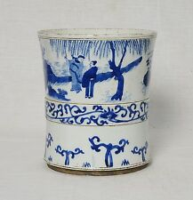 Chinese  Blue and White  Porcelain  Pen  Holder      M2551