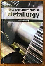 New Developments in Metallurgy (English) Hardcover Book Free Shipping!