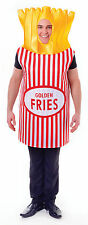 Adult French Fries Funny Stag Hen Unisex Party Costume Fancy Dress Food Outfit