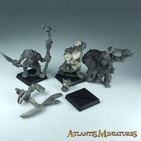 Metal Classic Orc X3 - Warhammer / Age of Sigmar XX368