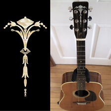 Old Torch (Aged White Pearl) Inlay Sticker Decal Guitar Headstock Peghead
