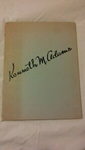 Kenneth M Adams (8) lithograph set 1950 SIGNED Series No. 1 University of NM
