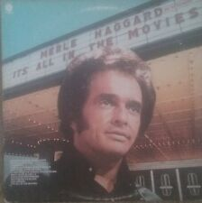 """MERLE HAGGARD """"It's All In The Movies"""" USED 1976 Columbia House LP VG+/VG+"""