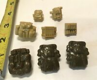 Lot of 8 Vintage GI G I Joe Lot of Backpacks Accessories