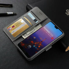 For Huawei P20 Pro Lite Shockproof Magnetic Flip Card Wallet Leather Case Cover