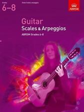 ABRSM Guitar Scales & Arpeggios, Grades 6-8 - Same Day P+P