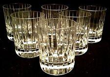 6 chopes/verres modèle Harmonie en cristal signé BACCARAT