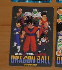 DRAGON BALL Z GT DBZ VISUAL ADVENTURE SPECIAL CARD CARTE 36 MADE IN JAPAN 1993