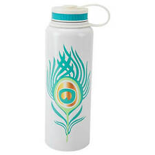 Boston Warehouse Cantini 40-Oz Stainless Steel Water Bottle, Peacock