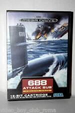 688 ATTACK SUB GIOCO USATO BUONO SEGA MEGADRIVE EDIZIONE ITALIANA 33760