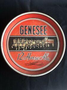 Genesee 12 Horse Ale Tray - Rochester, NY