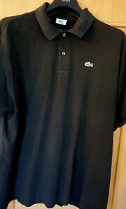 Lacoste Polo Shirt Gr.9 schwarz (3xl/4xl)