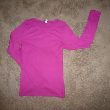 UNDER ARMOUR Thermal Long Sleeve Fitted SHIRT Top size M All Season Gear PINK J6