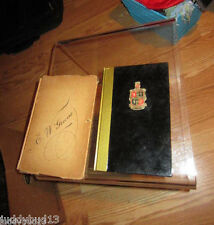 The How And When 1ST Printing 1937 Gale Marco Liquor Book Vintage signed