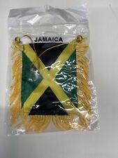 New listing Jamaican Mini Flag Car Banner
