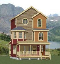 20x20 House -- 1 Bedroom -- 1,121 sq ft -- PDF Floor Plan -- Model 10C