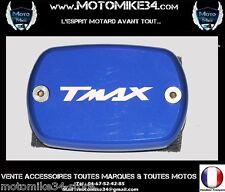 Couvre couvercle maitre cylindre bleu  Anodisé YAMAHA TMAX 500 530 2001-2014