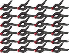 "24x Plastic Clamp Nylon Spring Grip Model Making Plastic Large Craft 6"" Jaws New"
