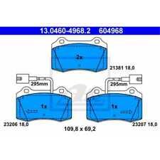 Scheibenbremse Bremsbelagsatz ATE 13.0460-4968.2