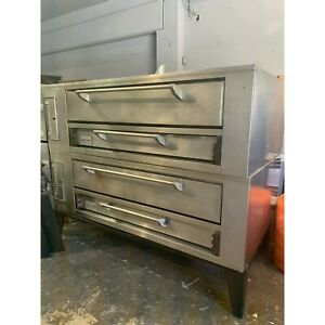 MARSAL PIZZA OVEN DOUBLE DECK GAS SD660, Used