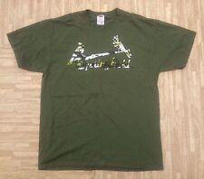 Springfield Cardinals SGA Army Green Brush Shirt ~ Men's Large L ~ SS St. Louis