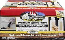 New J B Weld 40007 Wood Restore Premium Epoxy Putty Kit 64 Oz Free Shipping