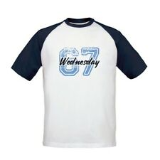 Sheffield Wednesday F.C - Personalised Mens T-Shirt (BASEBALL VARSITY NUMBER)