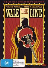 WALK THE LINE [2 disc] DVD R4 PAL Phoenix  / Witherspoon - Johnny Cash    SirH70