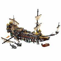 Lego Pirati ☆100%Compatible 2298pz  680x480 ☆ Galeone Pirata Silent Mary ☆►NEW◄