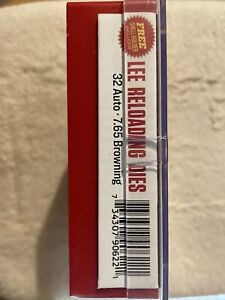 NEW Lee 32 ACP/Auto 7.65 Browning Carbide Die Set reloading dies