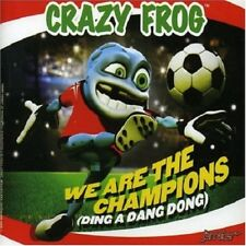 Crazy Frog-We Are the Champions CD Single  New
