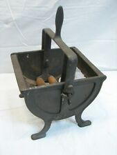 Antique Cast Iron Industrial Four Sifter Screen Kitchen Tool Pat Pend Strainer
